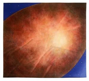 Förvandling I (slutet 1980-tal) - 150x150 cm