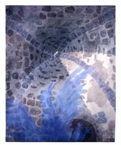Kryptan och den blå fantasin (mitten 1980-tal) - 120x80 cm